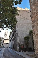 Muralla de la Força Vella. Girona. Monuments. Barri Vell.