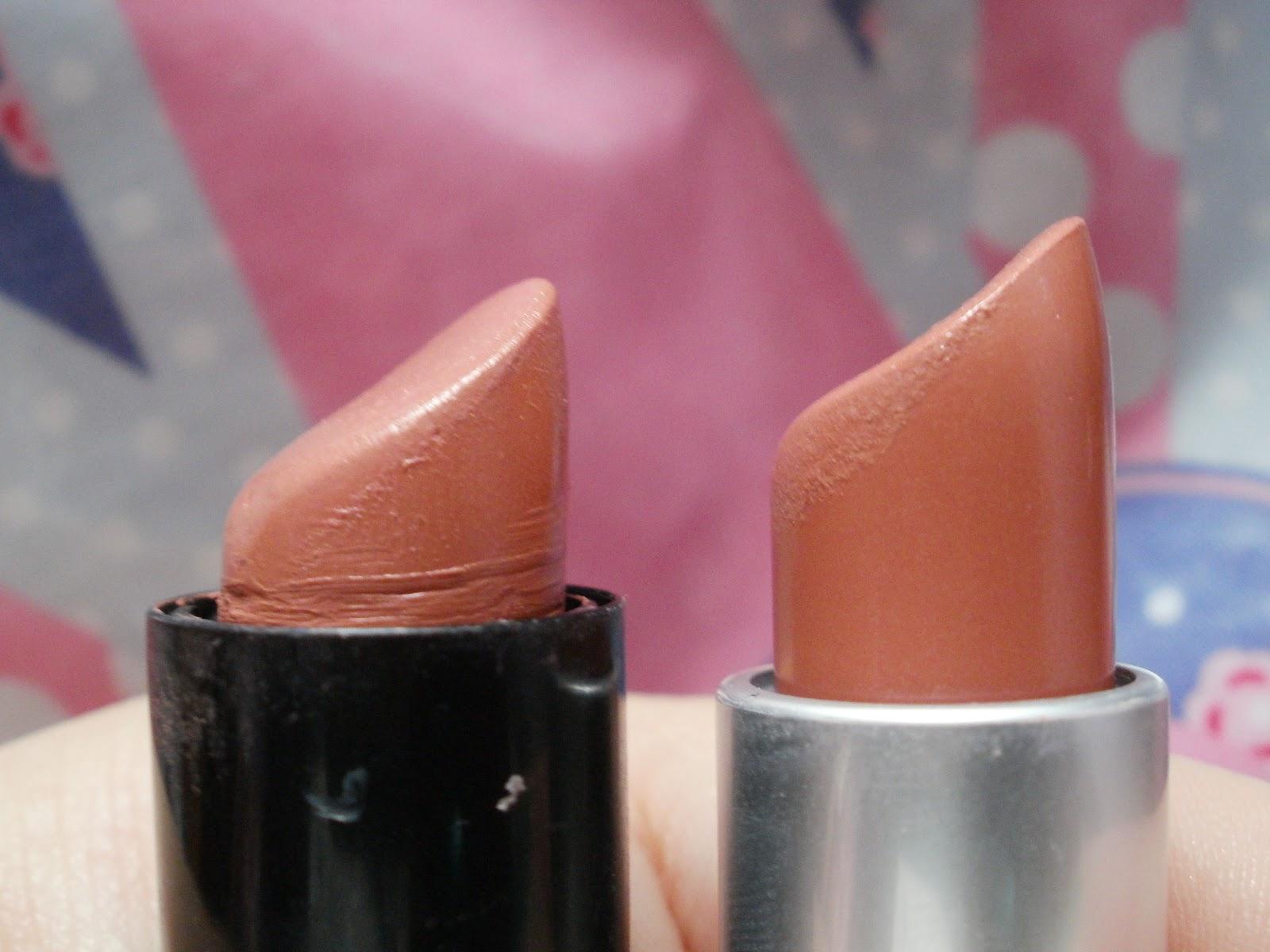 Georgia's Make Up Addiction: Mac Shy Girl vs NYX Pumpkin ...