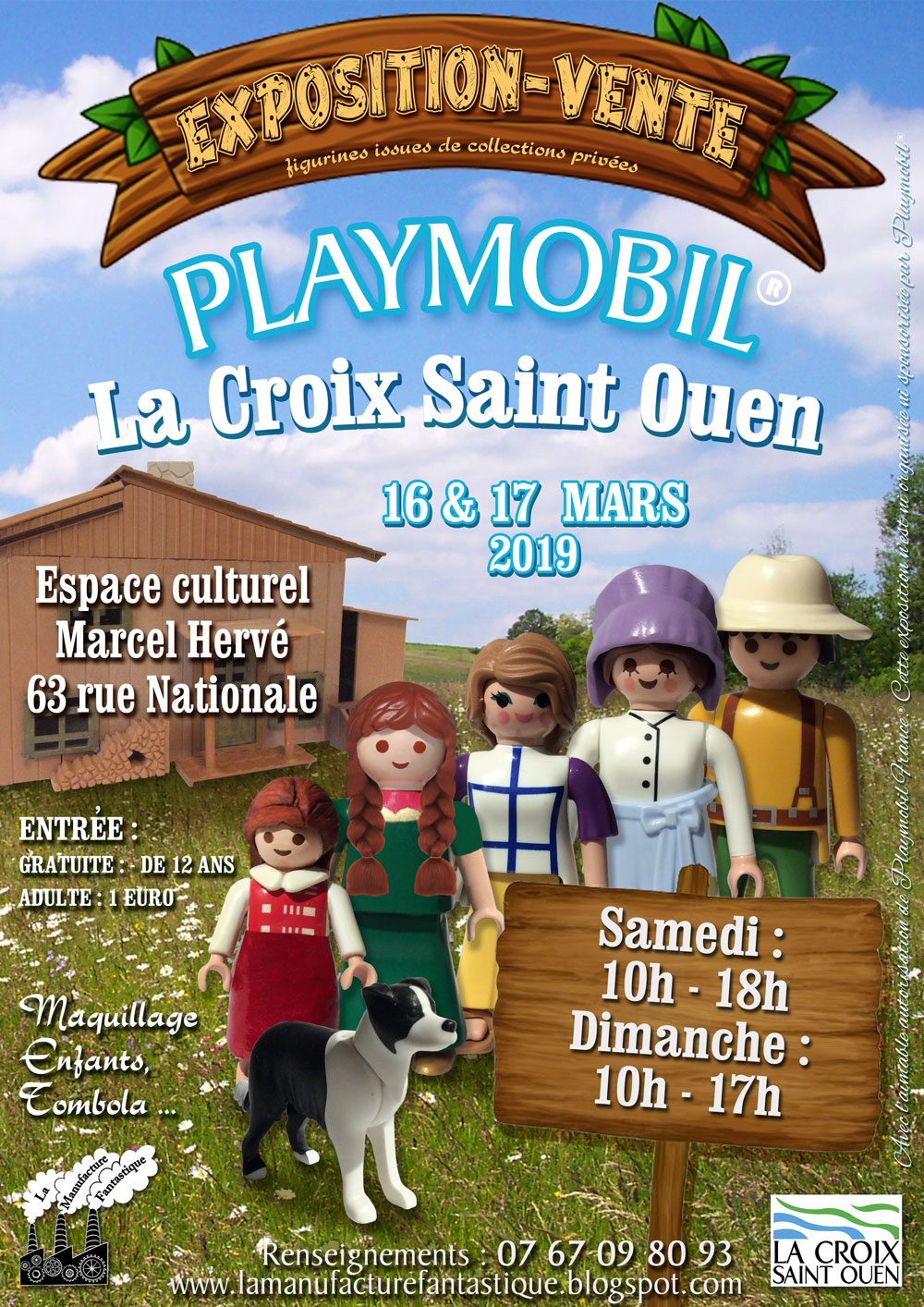 2nd Bourse Expo Playmobil Lacroix St Ouen