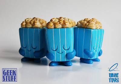 Big Kev's Geek Stuff Exclusive Blue Pepper Popcorn Resin Figure by UME Toys