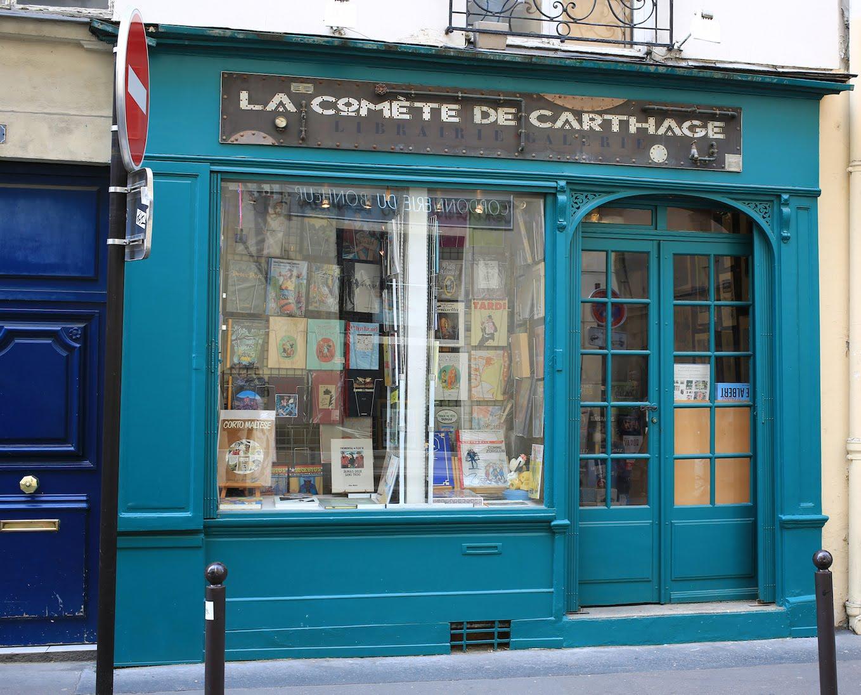 LA COMETE DE CARTHAGE - PARIS 5ème