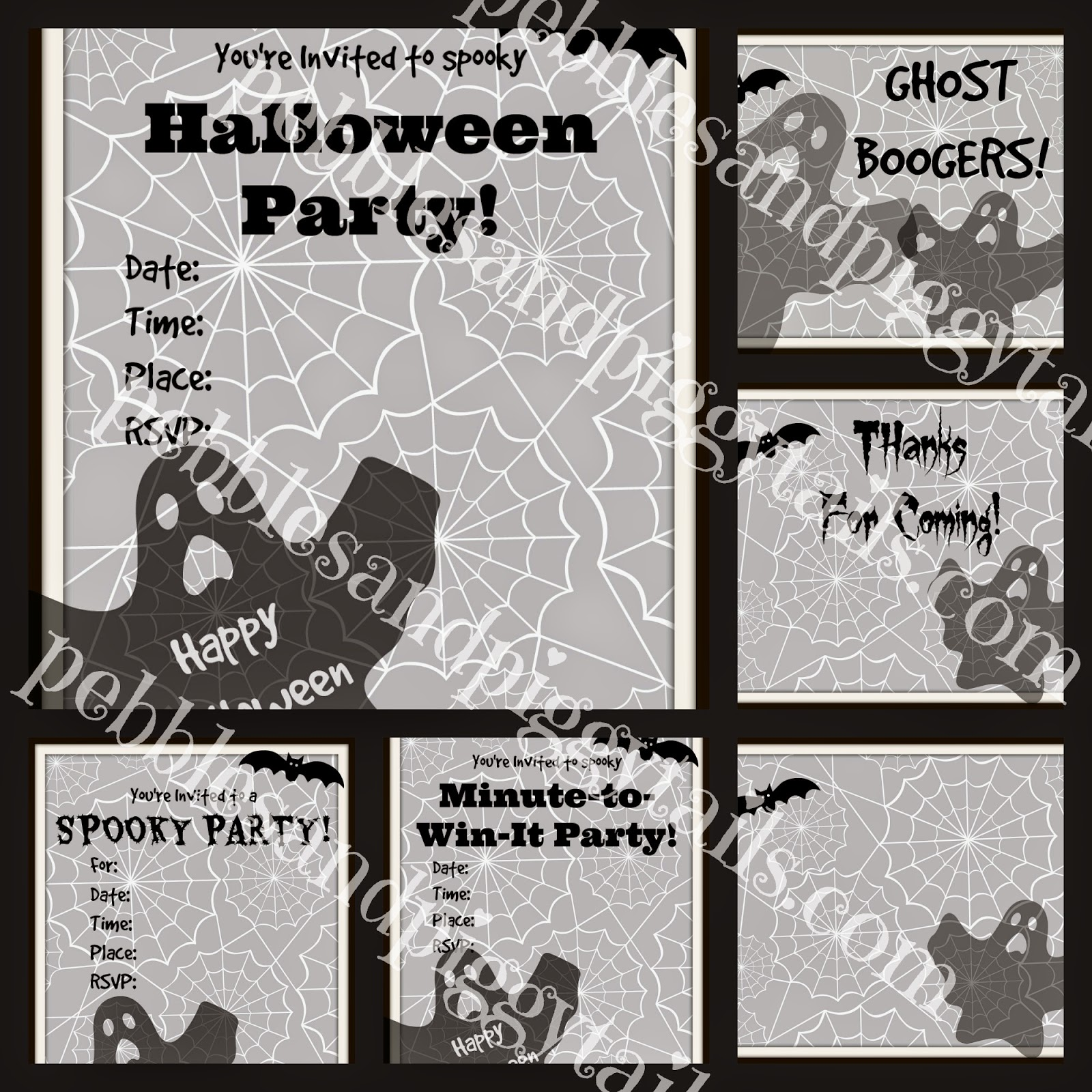 Easy Halloween Minute-to-Win-It Party (plus printables) | Making ...