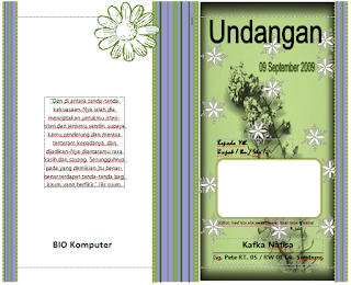 Download Template Motif Undangan Pernikahan Format Word Gampang Diedit ...