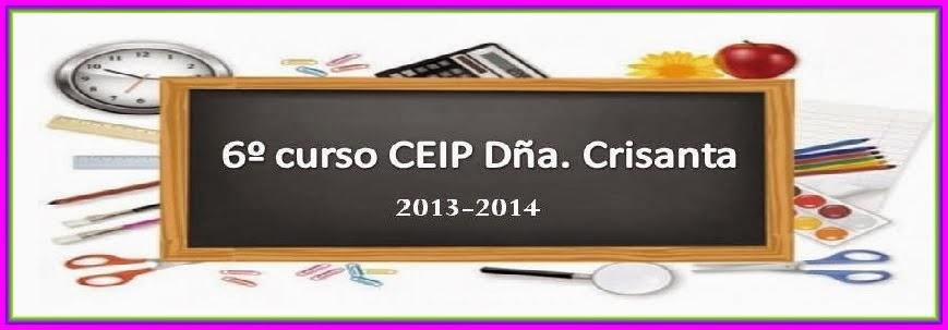 BLOG DE 6º. CURSO 2013-14