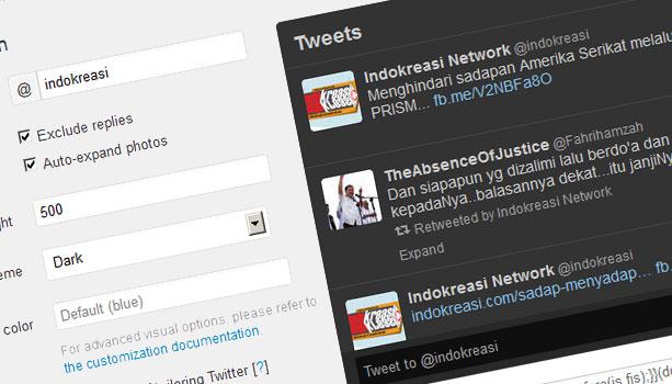 new-twitter-widget