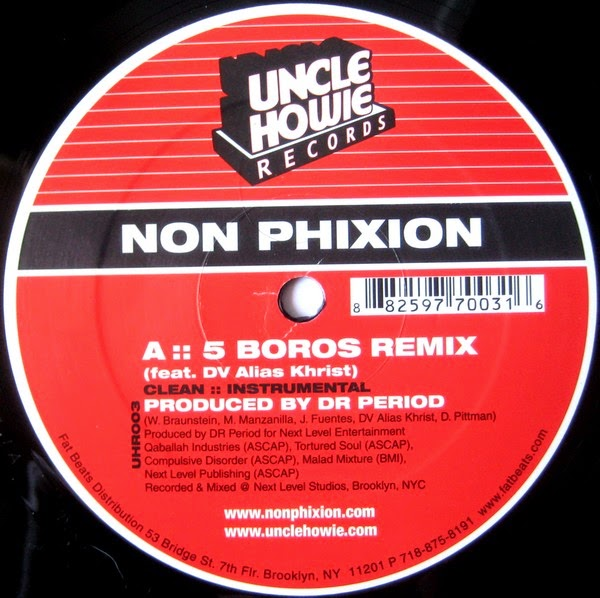 Non Phixion - 5 Boros (Remix)