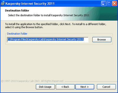 Gratis Kaspersky Security Suite CBE 11 (Kaspersky Internet Security 2011) 1 Tahun Lisensi Kode