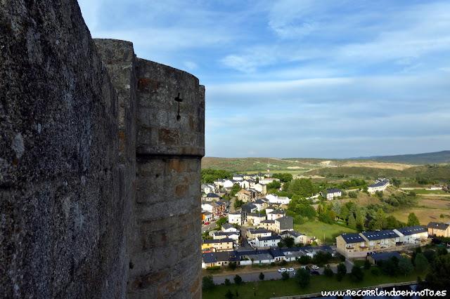 Vista desde los muros del castillo