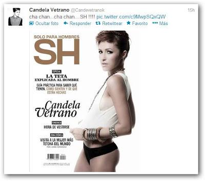 Candela Vetrano  revista SH