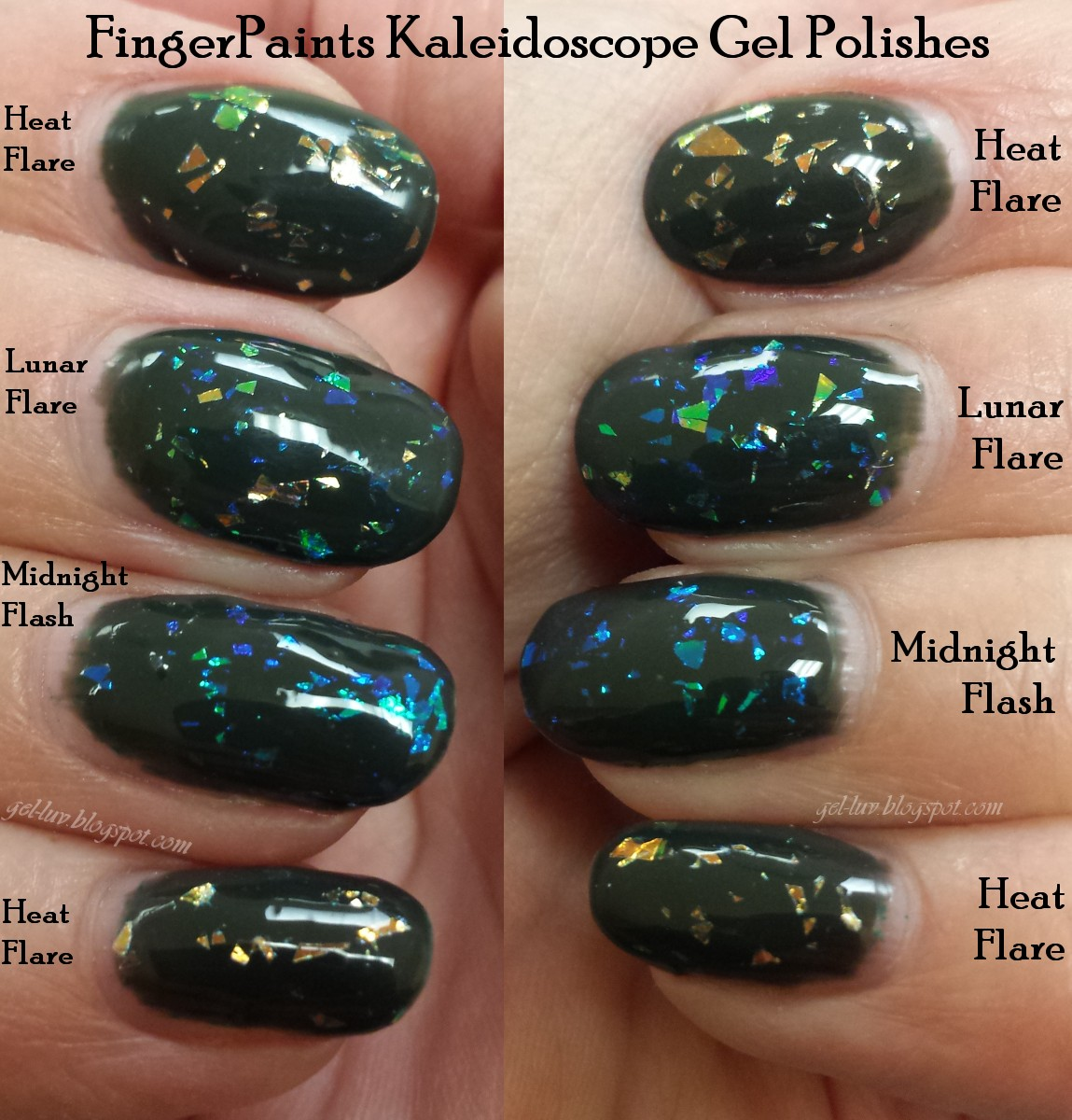 Gel-Luv: A GEL Polish Blog!: FingerPaints Gels - \