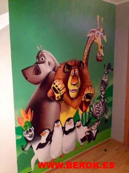 Graffitis Madagascar