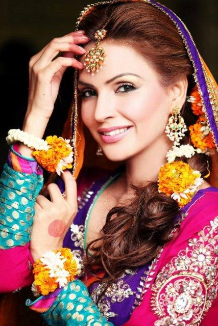 Mehndi dresses 2012