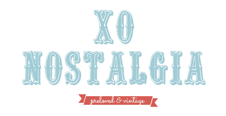 xo Nostalgia - Vintage and branded preloved | Online shopping Malaysia