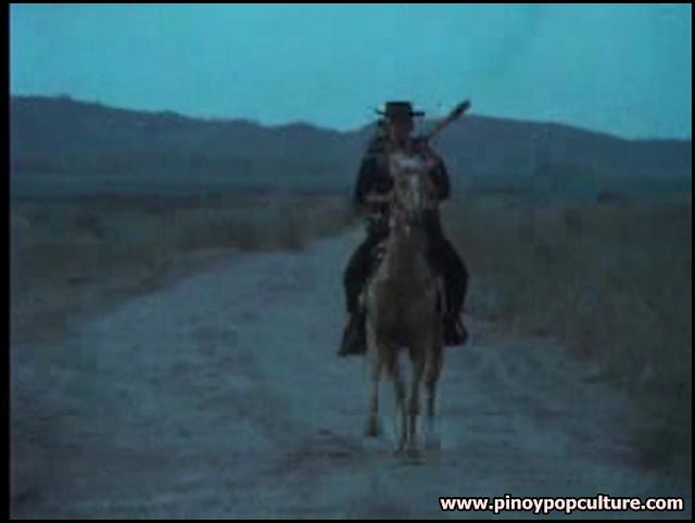 Leon Guerrero, horseback