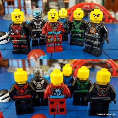 LEGO Ninjago Temple Of Airjitzu 6 ninjas