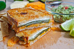 Jalapeño Popper Grilled Cheese Sandwich