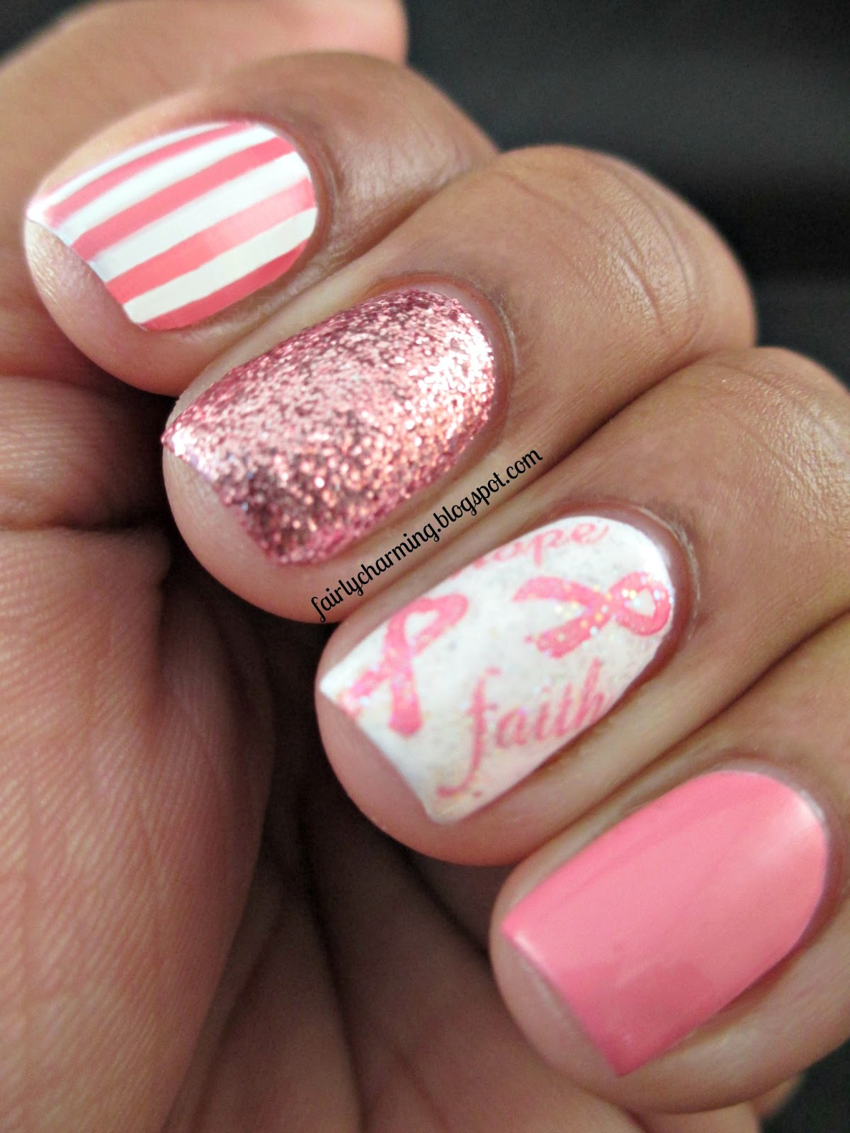 Fairly Charming: Joby Nail Art\'s Fight Against Breast Cancer