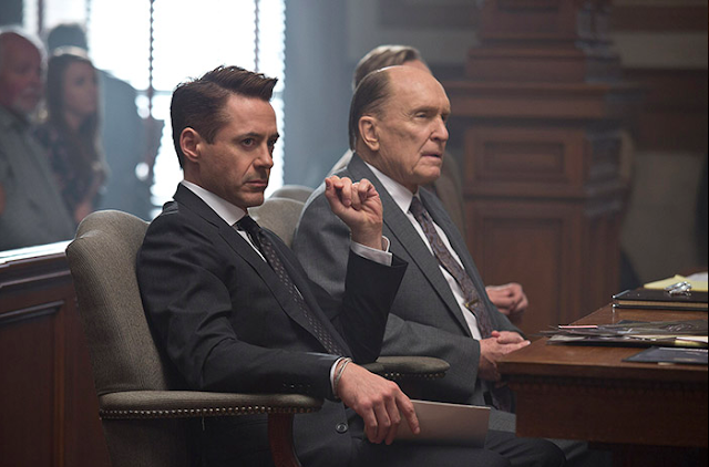 Robert Downey Jr. Photo and Robert Duvall Photo in The Judge Movie 2014