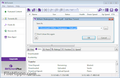 BitTorrent 7.8 Build 29676 Free Download