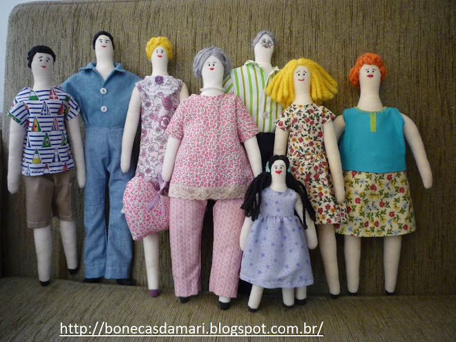 Bonecas da Mari