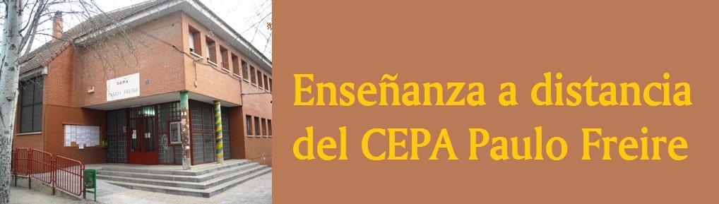 Enseñanza a distancia del CEPA Paulo Freire