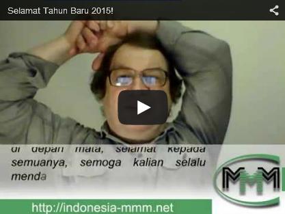 Ucapan Selamat Tahun Baru 2015 Dari MMM Mavrodi Indonesia