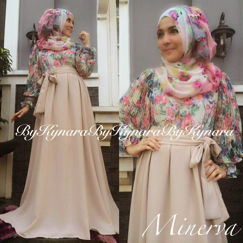 Baju Muslim Terbaru Di Thamrin City Minerva Dress By Kynara