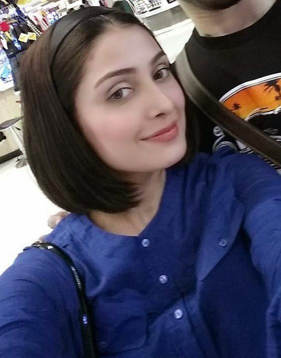 Pakistani Actress Ayeza Khan in Short Hairs – New Look
