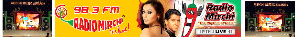 Radio Mirchi 98.3 FM - Listen To Radio Mirchi Online - It&#39;s Hot! - Tune In