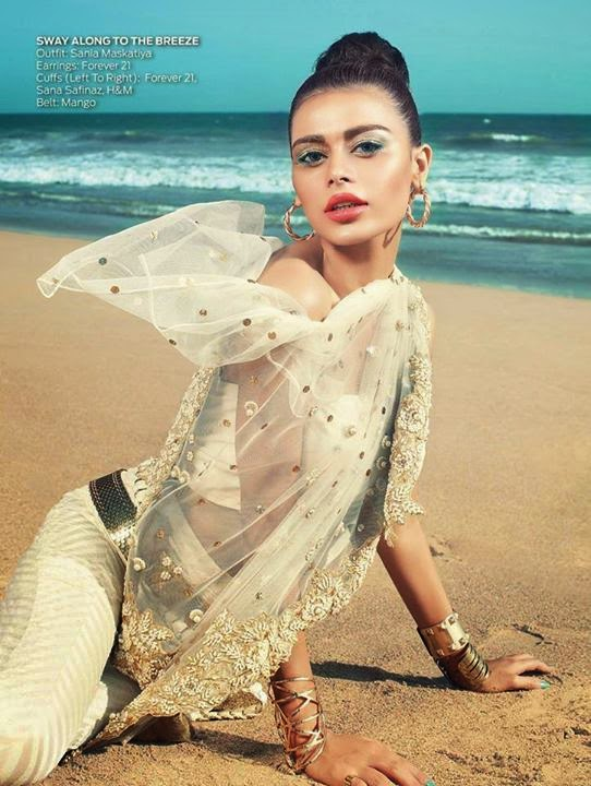 OK Pakistans Editorial White Summer sadaf kanwal