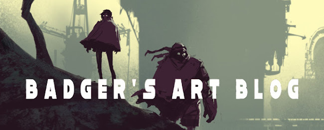 .::Badger's art blog - Concept art and design::.