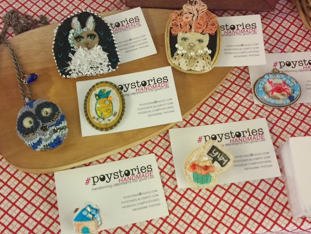 poystories handmade embroidered jewelry