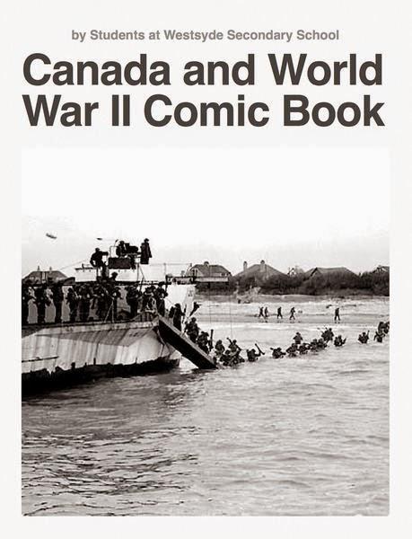 Canada and World War II Comic Book