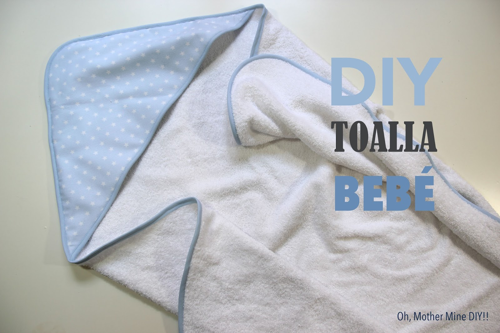DIY CANASTILLA: Tutorial toalla de bebé con capucha - Handbox Craft ...
