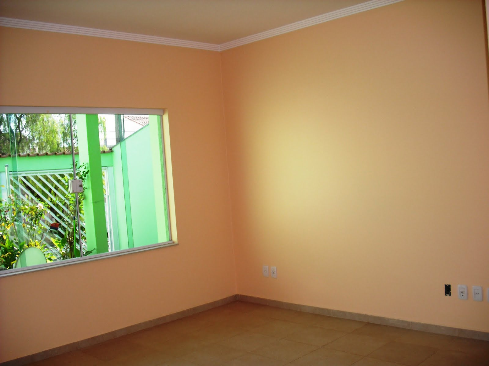 #2C9F57 DE NEGÓCIOS: Sala Piso porcelanato 3 ambs janela de vidro  434 Janelas De Vidros Para Salas