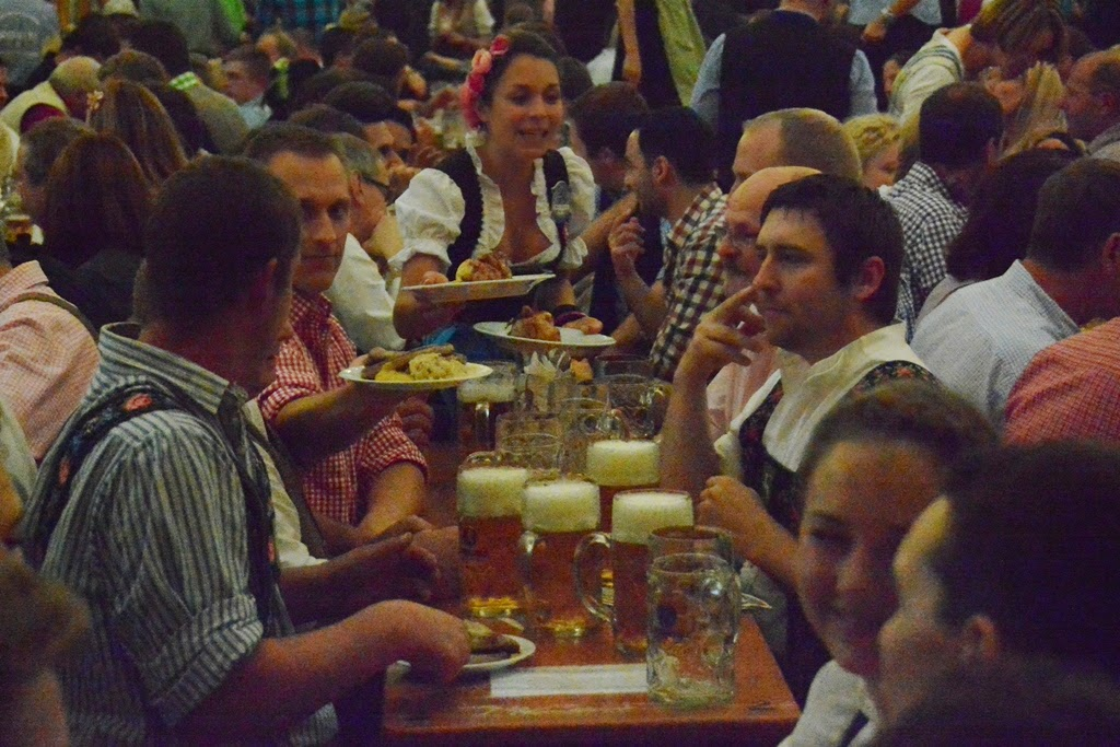 Oktoberfest Munchen 2014 beer