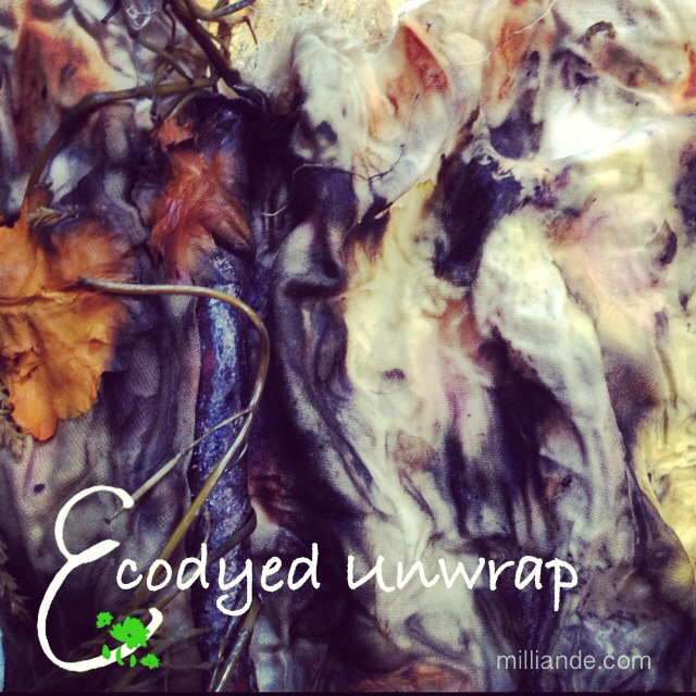 Steam Dye Bundles for Ecodye Textiles at milliande.com for UnRuly Cloth and Cavas Play