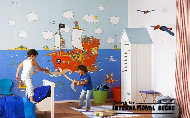 childrens wallpaper murals,nursery wallpaper, kids wallpaper