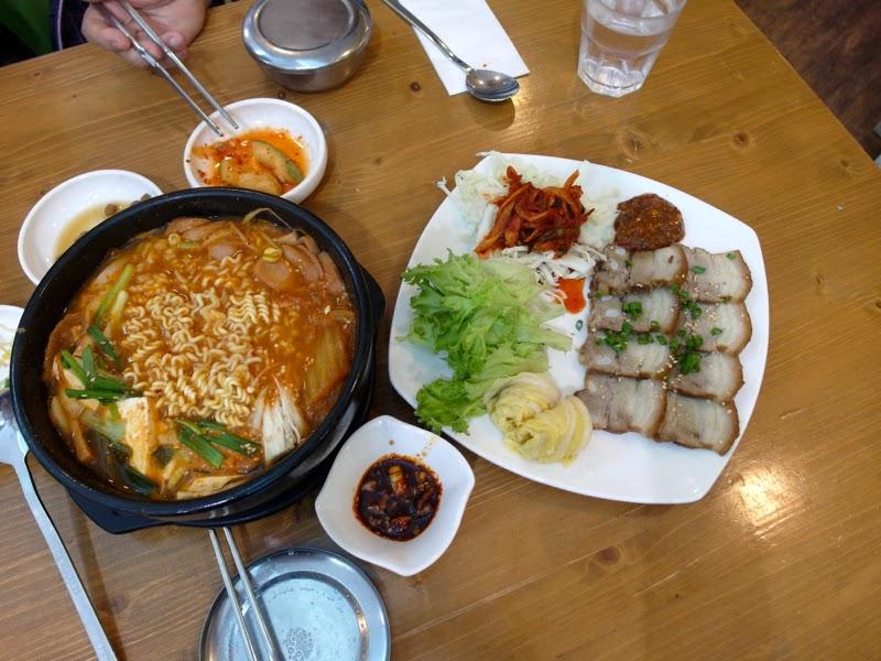Manna Story JCube Korean Food