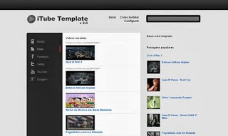 itube video blogger template 2014 for blogger or blogspot,video template free download 2014,download free template for blogger video,2014 video blogger theme,black white template for blogger,gallery blogger template 2014 2015