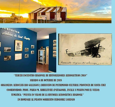 Tercer Encuentro de Historiadores Aeronáuticos 2018