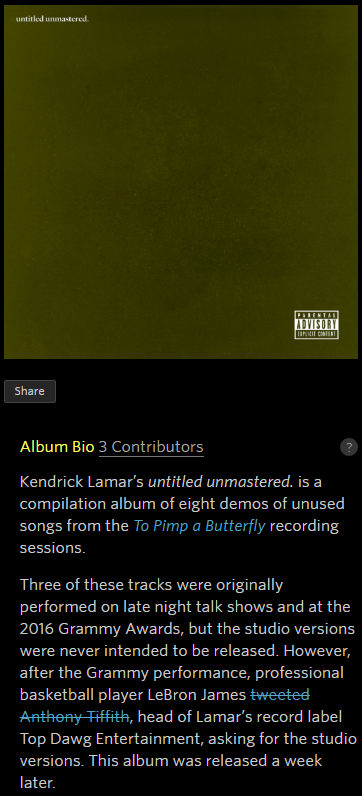 Kendrick Lamar Untitled Unmastered Download Zip