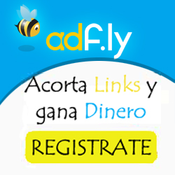 AdF.ly - acorta links y gana dinero!