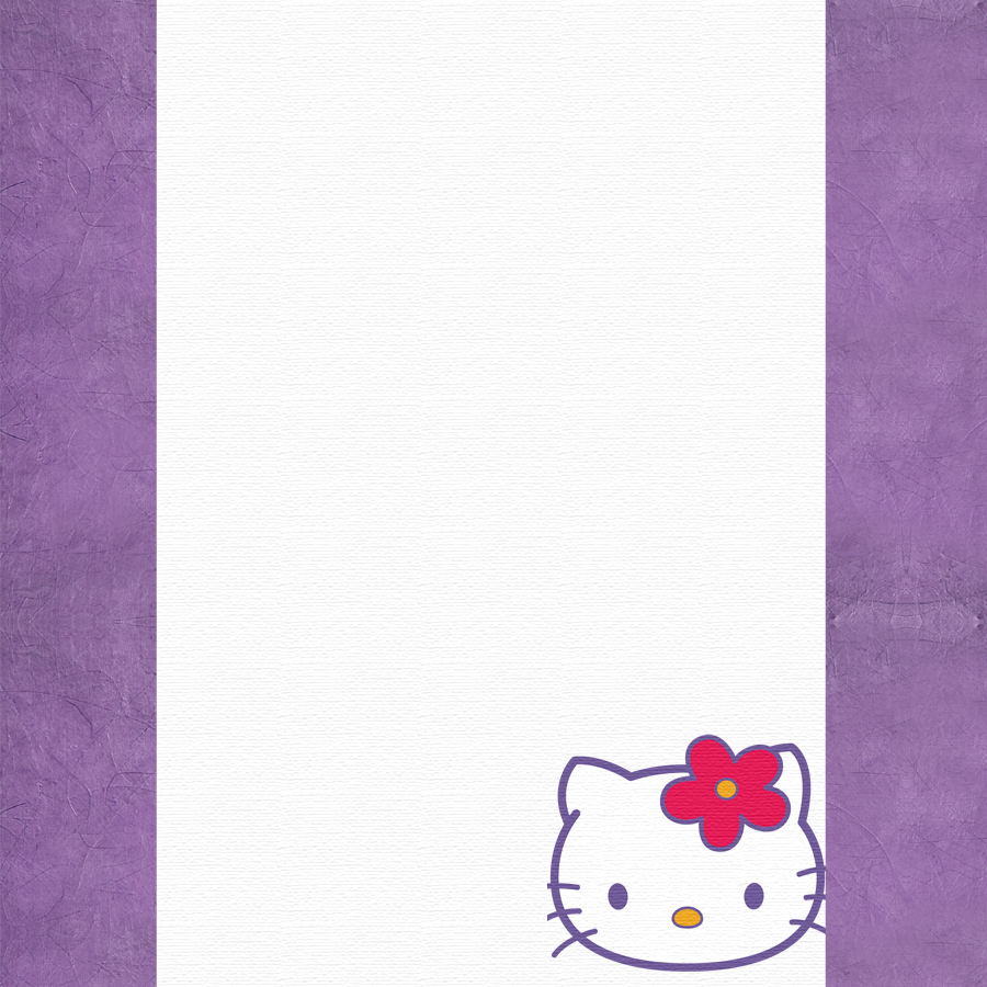 Hello Kitty Borders Images And Backgrounds Oh My