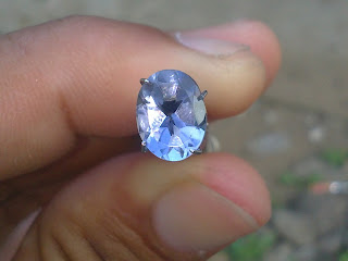 natural iolite gemstone