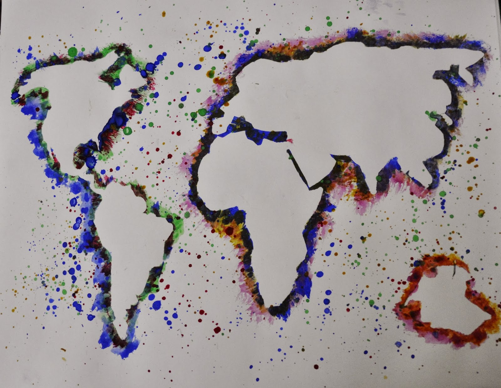 World Map ~ Fine-Art Print - Geography Art Prints and Posters ...