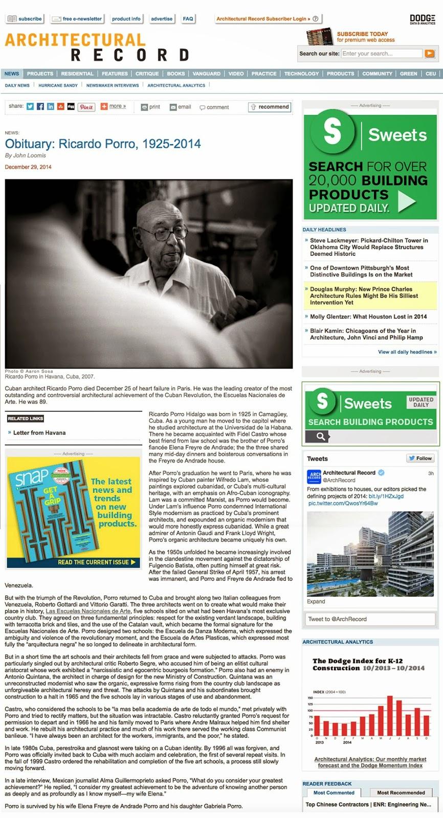 http://archrecord.construction.com/news/2014/12/141229-Obituary-Ricardo-Porro-1925-2014.asp