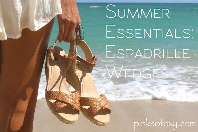 Summer Essentials Lucky Brand Espadrille Wedges