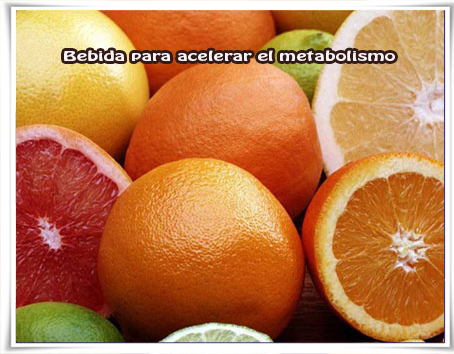 Bebidas para adelgazar, quemagrasa, perder peso, metabolismo