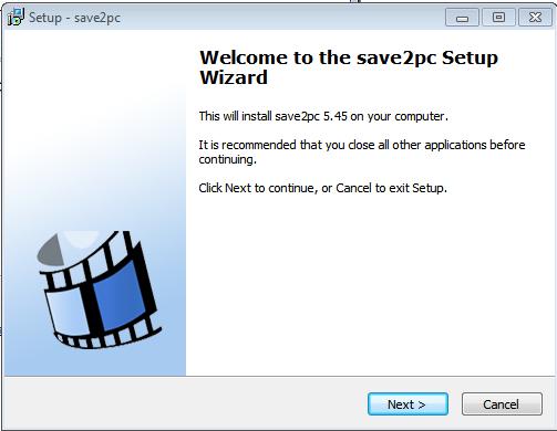 как установить программу save2pc
